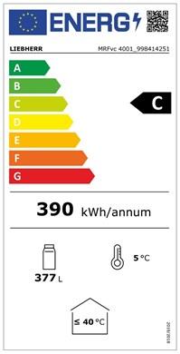 energetický štítek pro MRFvc 4001-20